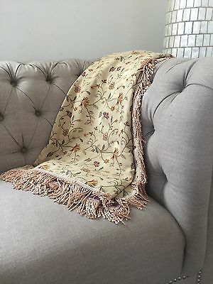 2-3 Seater Lounge Cover/ Throw Rug/ Blanket 180x270cms