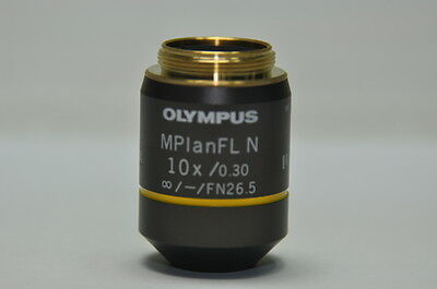 OLYMPUS Microscope Objective Lens MPlanFL N 10x /0.30 UIS 2
