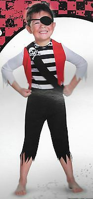 NWT Shipwreck Pirate Halloween Costume- Toddler Size 2T