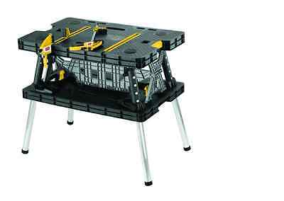 "21.65 x 33.46 x 29.7"" Garage Workbench Folding Work Table 1000lb Weight capacity"