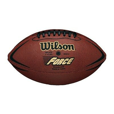 Wilson Force Inflated American Football Junior Size Ready To Use Nfl Approved