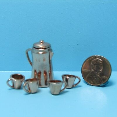 Copper Cup Skillet Pan 1:12 Dollhouse Miniature Mexican Import Kitchen MC703