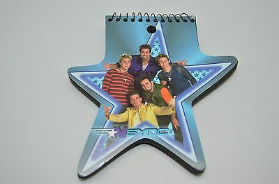 N Sync Star Notepad 2000