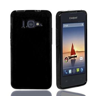 FOR COOLPAD ARISE 5560S (Sprint) TPU Silicone Soft Gel Case + Screen  Protector