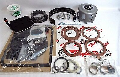 GM 700R4 TRANSMISSION SUPER MASTER REBUILD KIT Raybestos Stage-1 Clutches  88-92