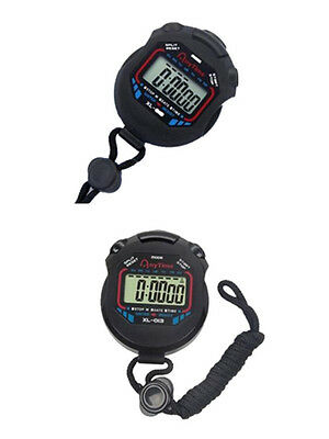 Professional Chronograph Hot Stopwatch Sports 2016 Timer Counter New