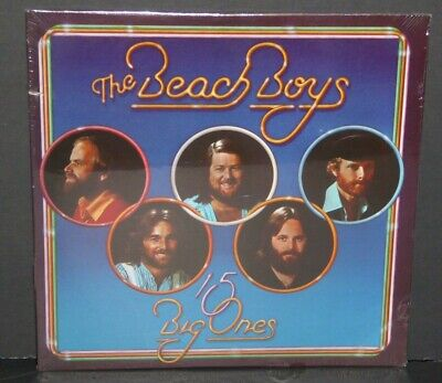 The Beach Boys 15 Big Ones SEALED NEW vinyl LP record cut out