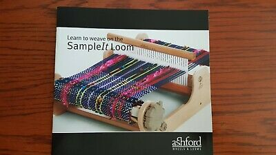 Learn to Weave on the Sample-It Loom - Full Colour Instruction Booklet 32 Pages