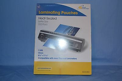 Royal Sovereign Lamination Pouches 200 Pack