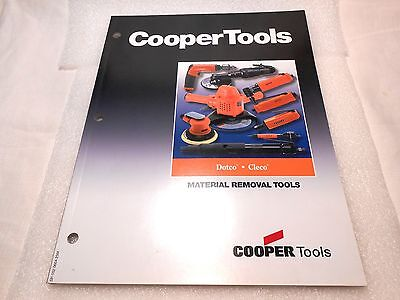 Cooper Tools DOTCO CLECO Material Removal Tools Catalog Book 2004 72 Pages