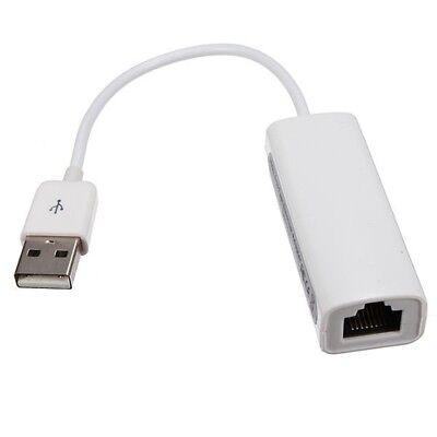 USB 2.0 to RJ45 LAN Ethernet Network Adapter For Apple Mac MacBook Air Laptop WS