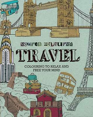 Inspired Colouring Book - Travel