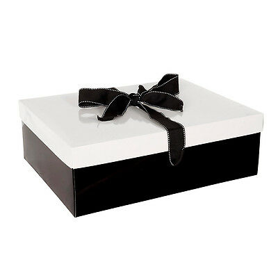 BNT Large Monochrome Gift Box - Black/ White