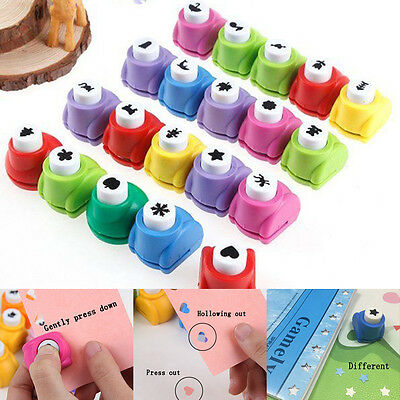 28 Shape Craft DIY Scrapbooking Cards Making Paper Shaper Hole Punch Mini Cutter