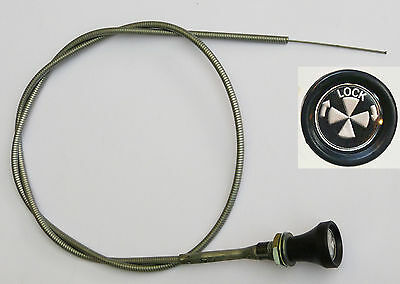MG Midget 1500 Turn & Lock, Locking Choke Cable, MG part CHA446