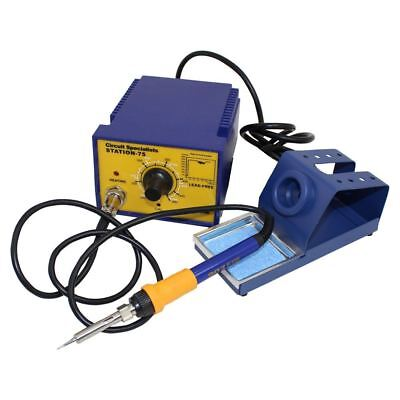CSI Station75 Temperature Control Soldering Station with Powerful 75W Iron
