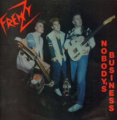 "Frenzy(12"" Vinyl P/S)Nobody's Business-Cat Machine-CATMINI 001-Holland-Ex/VG+"