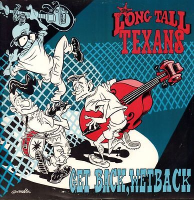 "Long Tall Texans(12"" Vinyl P/S)Get Back Wetback-Razor-RZST 112-UK-1988-VG+/Ex"