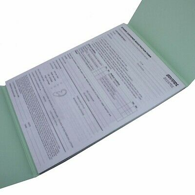 Studex Ear Piercing Registration Book Consent Forms Aftercare Leaflets