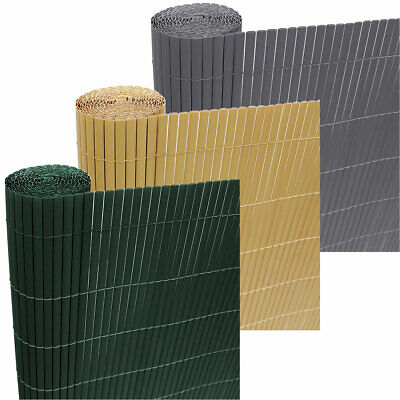 Artificial Bamboo Garden Fence Outdoor Privacy Screen Screening Panel Roll 4m