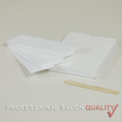 Wido 100 SALON DEPILATORY PAPER WAXING STRIPS NON WOVEN LEGS BODY HAIR REMOVAL