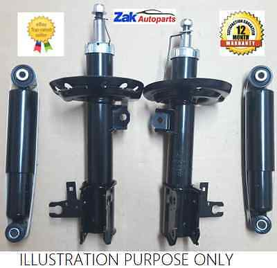 BMW E46 Front & Rear Shock Absorbers x 2 1998-2007 Pair Shockers Dampers
