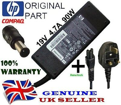 Genuine Original Hp Pavilion Dv6-2113Sa Laptop 19V 4.7A 90W Adapter Charger Cord