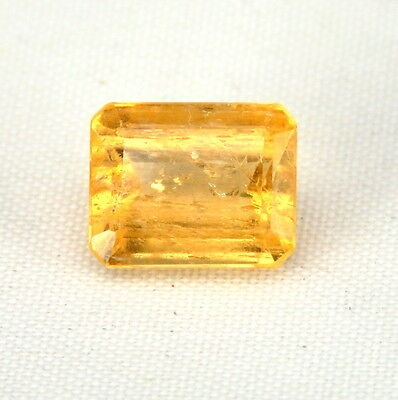 TOP RARE IMPERIAL TOPAZ : 4,08 Ct Unbehandelt Orange Imperial Topas Brasilien