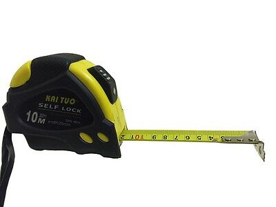 5m Tape Measure Auto Locking (16ft)  Heavy duty Pro Belt Clip & Strap