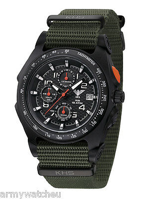 Infantry Men's Tactical Military Chronograph C1-Light Date Analog German Watch