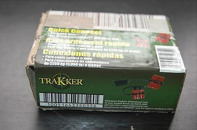 Trakker Winch Quick Connect Cable  6 AWG WIRE HAMPTON PRODUCTS Keeper KTA14127