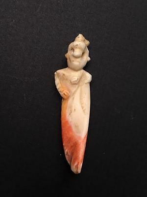 Shell Carving - Pre-Columbian