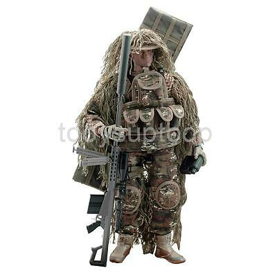 """1/6 Sniper Elite Special Forces Soldier 12"""" Action Figure Toy w/ Accessories"""