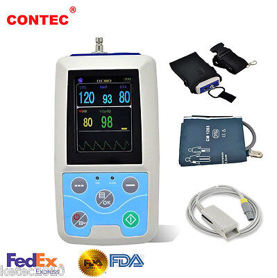 FDA Approved CONTEC Blood Pressure NIBP SPO2 Patient Monitor (NIBP SPO2 PR) PM50