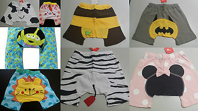 Baby Infant Toddler Boy Girl Bloomer Nappy Cover Shorts Pants 0-18m Disney New