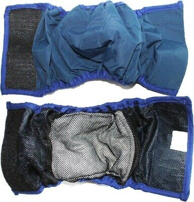 BELLY BAND Dog Diaper Male Wrap WASHABLE Reusable Absorbent Lining Padded