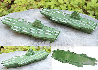 2 pcs Military Battleship Warship Models Toy Soldier Army Men Accessories