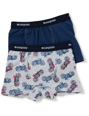 NEW Marquise Boys Motorbike Trunks 2 Pack
