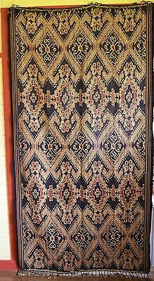 Fine Large Vintage Hand Woven Ikat Flores, Indonesia