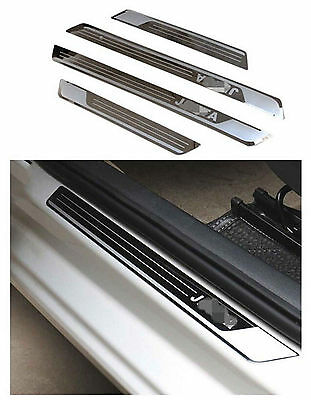 Stainless Door Sill Plate Protector Scuff Guard For VW JETTA MK4 MK5 MK6 04-13
