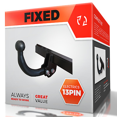 NISSAN X-TRAIL 2007-2014 T31 Fixed Swan Neck Towbar with Electric Kit 13Pin