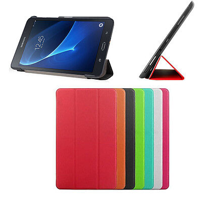 Smart Cover Slim Samsung Galaxy Tab A 10.1 2016 Sm-T580 Sm-T585 Custodia Tablet
