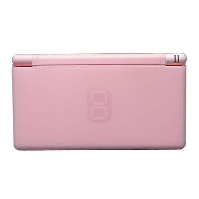 New Coral Pink Nintendo DS Lite Handheld System Console NDS NDSL
