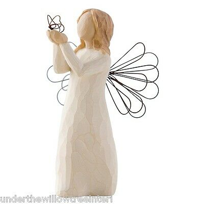 New & Boxed Willow Tree Figurine  'Angel of Freedom' #26219