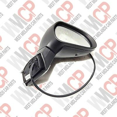 Peugeot 207 2006-2013 Primed Electric Door Wing Mirror Drivers Side Right New