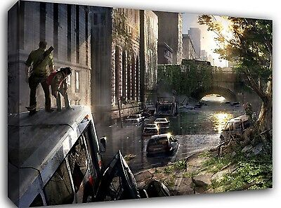 """The Last of Us- A1 20x30"""" Gallery Grade Canvas Art"""