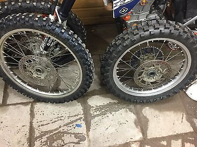 Yz Yzf 450 250  Front wheel disc tyre