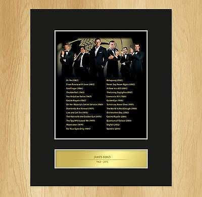 James Bond ALL FILMS Limited Edition Collectable Display