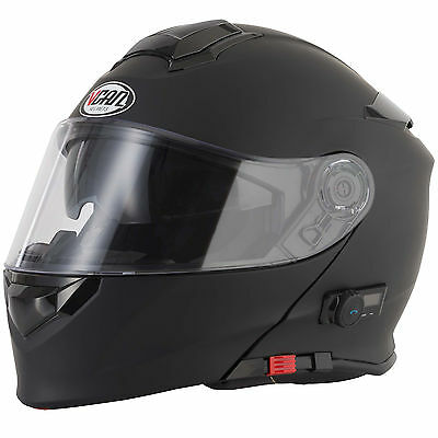 VCAN V271 Blinc Matt Black Helmet (SIZE - Small) **RRP £159.99**