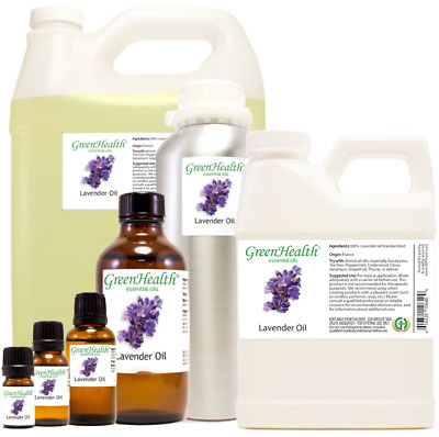 Lavender Essential Oil Therapeutic Grade by GreenHealth 5ml - 1GAL
